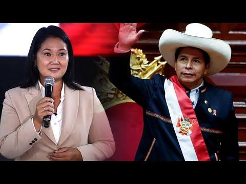 Keiko Fujimori dispuesta a reunirse con el presidente Pedro Castillo