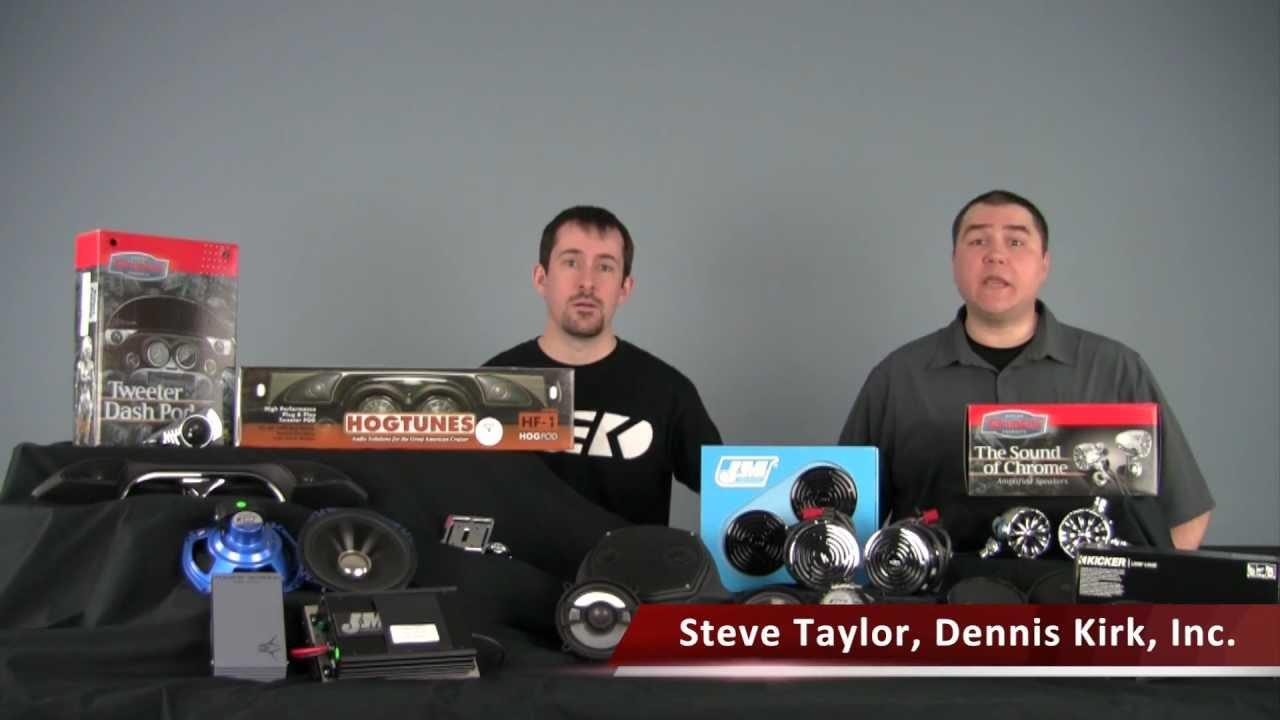 Motorcycle Audio Overview - YouTube