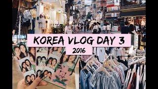 Gambar cover SEOUL, KOREA VLOG 2016 | Checking into Airbnb & Hongdae Shopping!!