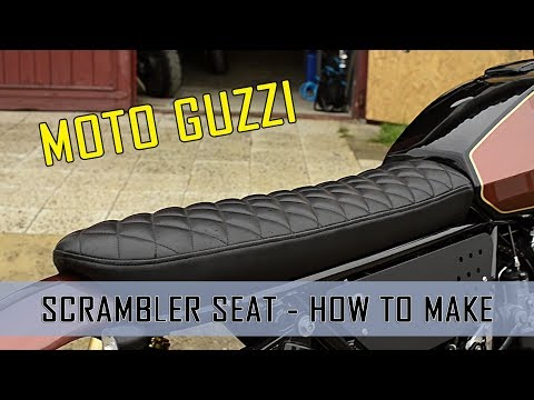 Výroba sedla BratStyle Cafe Racer - How to make the seat scrambler Cafe Racer Moto Guzzi V65 Florida Scrambler FOLLOW OUR ON INSTAGRAM ...