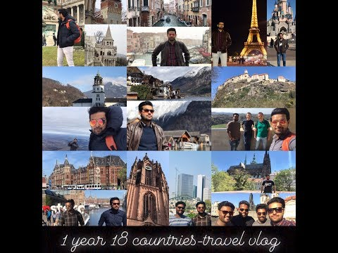 Travel Vlog-1 Year 18 Countries