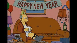 The Simpsons  -Happy New Year New Style!