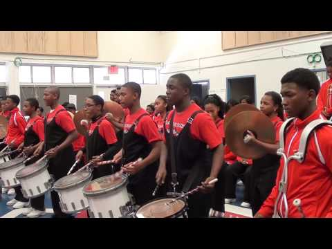 JACK ROBEY VS THOMAS MIDDLE DRUMLINE BATTLE ROUND 1 2014