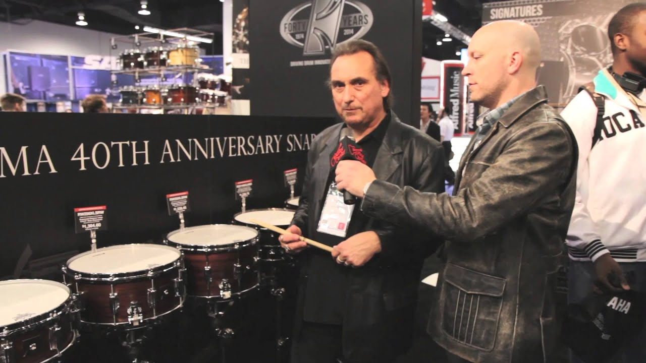 guitar center new from namm tama 40th anniversary snare drums youtube. Black Bedroom Furniture Sets. Home Design Ideas