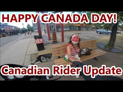 Canada Day! - Motorcycle Riding & Update!