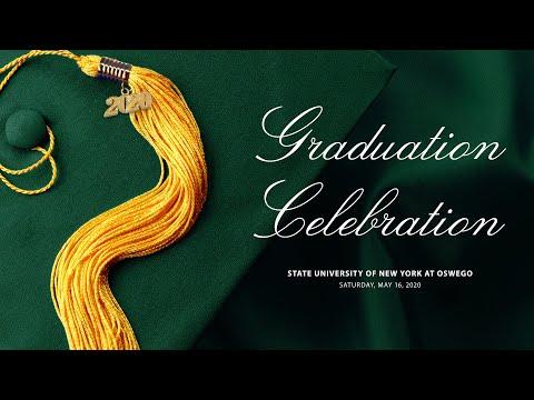 SUNY Oswego virtual graduation celebration