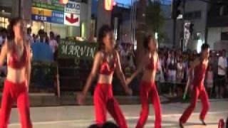 2011年8月7日に 水戸市で行われた黄門まつりにて、ジャズダンススタジオ...