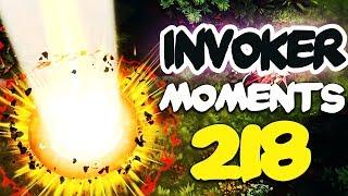 Dota 2 Invoker Moments Ep. 218 [7.22 Patch]