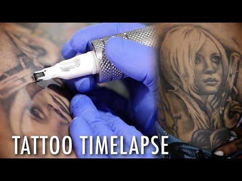 Tattoo Time Lapse - Teneile Napoli