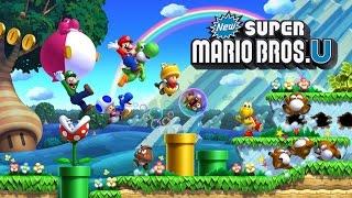 New Super Mario Bros. U PC 4K60FPS Gameplay CEMU
