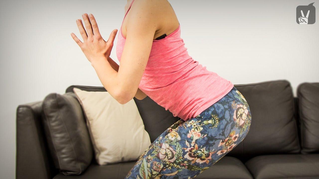 Yoga gegen Rückenschmerzen für Anfänger und Mittelstufe..