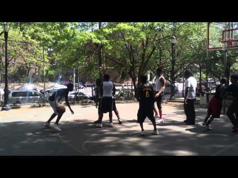 BASKETBALL  BALONCESTO  HARLEM  NEWYORK  BALL