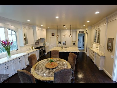Custom Kitchen Remodel In Coto De Caza Orange County By Aplus Interior Design Remodeling Youtube