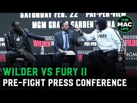 Deontay Wilder Vs. Tyson Fury II | Full Pre-Fight Press Conference