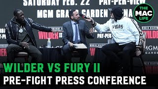 Deontay Wilder vs. Tyson Fury II | Full Pre-Fight Press Conference
