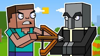 Minecraft Survival Mode: Block Squad | Animation Compilation 2
