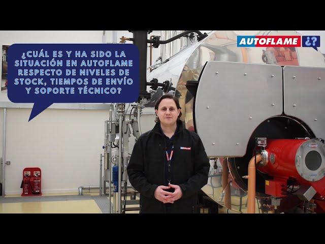 ¿Cuál es y ha sido la situación en Autoflame respecto de stock, tiempos de envío y soporte técnico?