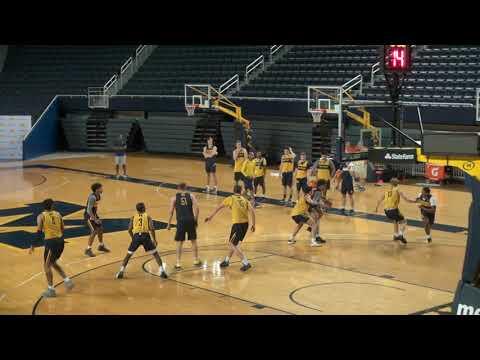 Michigan Basketball Practice (8/9/18) Pre Spain 5-on-5