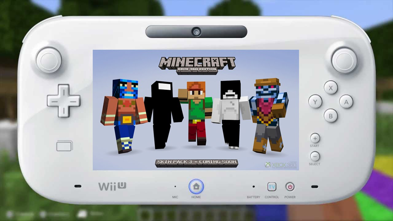 Minecraft Wii U Edition SKIN PACKS Pokemon Mario Zelda Sonic - Gomme skin fur minecraft pe