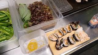 대구 야한 오빠 통삼겹김밥  크다 커 kimbob in…