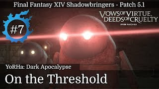 FFXIV Patch 5.1 - Playthrough (ITA) #7 – On the Threshold