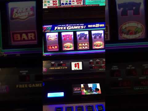 Double jackpot slot hand pay!