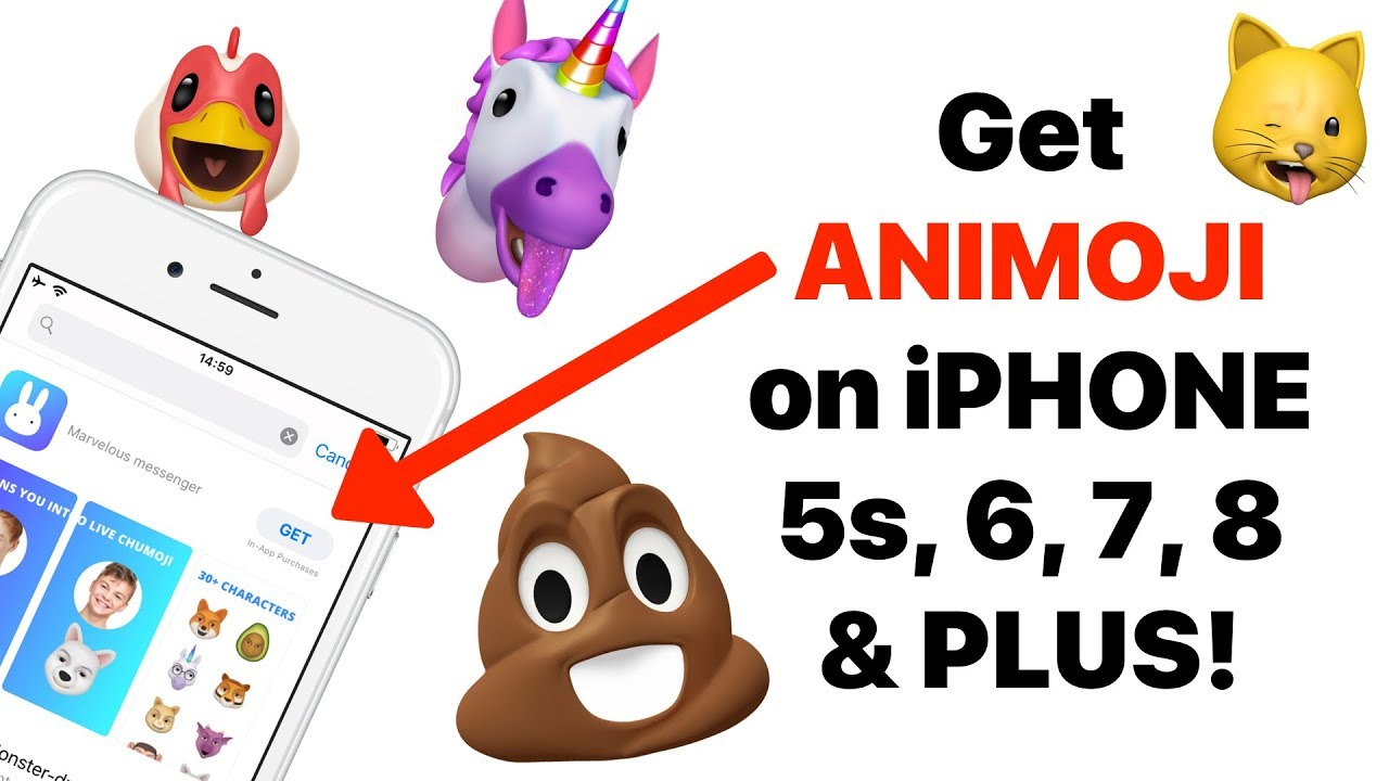How to get Animoji and Memoji on any iPhone 5S, 6, 7, 8
