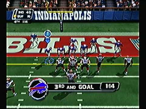 NFL Blitz 2003 - Colts vs Bills (2nd Half)