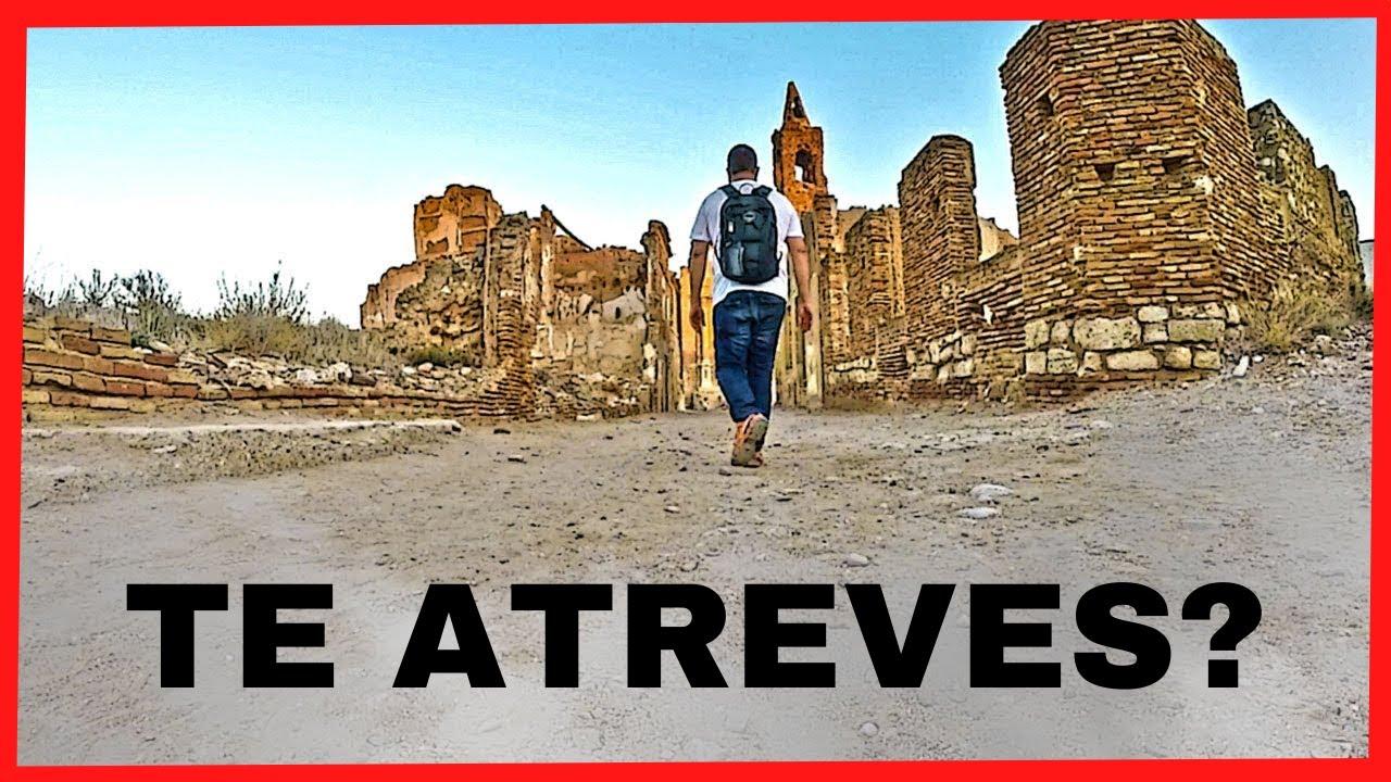 Belchite Viejo, el pueblo fantasma de la Guerra Civil Española - YouTube