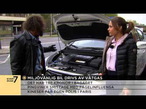Här är bilen som drivs av vätgas - Nyhetsmorgon (TV4)