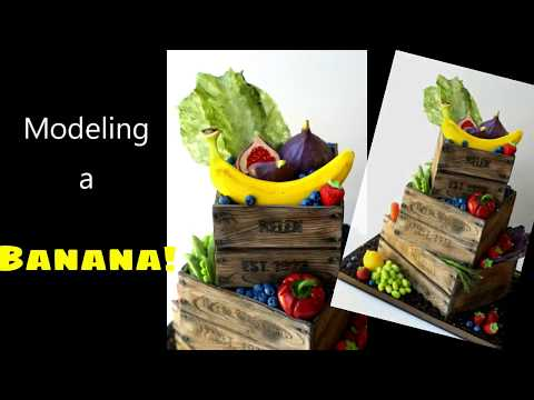 How to make (model) a Banana! (For Cake ;)