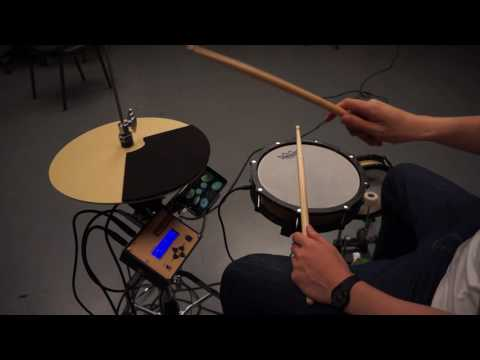 Arduino Minimal Drum Set