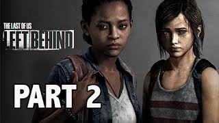The Last of Us Left Behind DLC Walkthrough Part 2 - Major Shrinkage (PS3 Let's Play Gameplay)