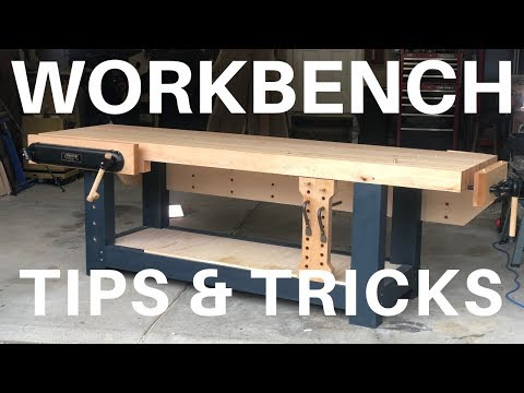 Workholding On A Traditional Workbench // Viseless Tips // Woodworking
