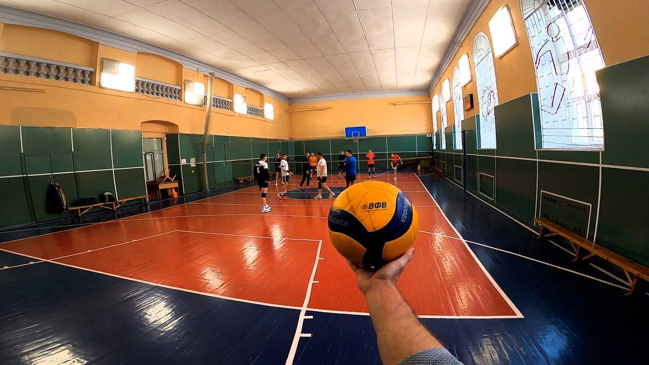Волейбол от первого лица   VOLLEYBALL FIRST PERSON   Like Karasuno High school   119 episode