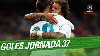 Todos los goles de la Jornada 37 de LaLiga Santander 2017/2018