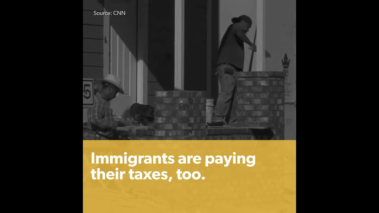 Undocumented Immigrants Pay their Taxes