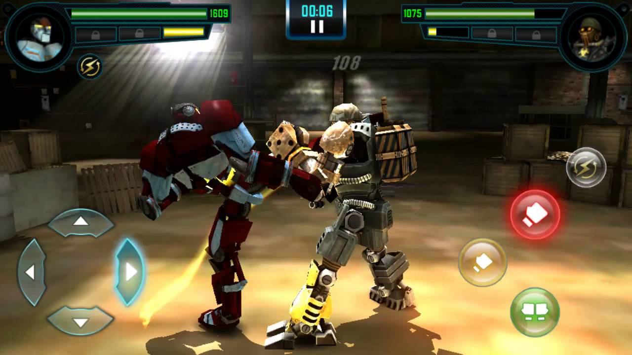 real steel wrb android game hd 1080p - youtube