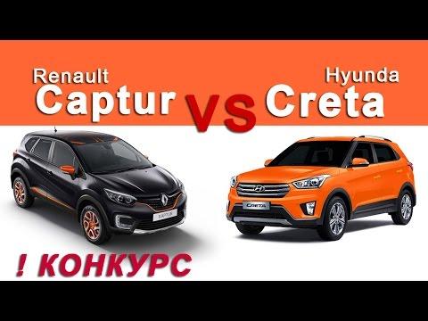Хендай Крета vs Рено Каптур сравнительный обзор МихельсонТВ Автоблог 3
