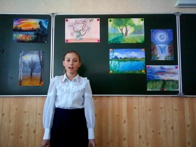 Изображение предпросмотра прочтения – ВикторияГерасимова читает произведение «Кузнечик» М.В.Ломоносова