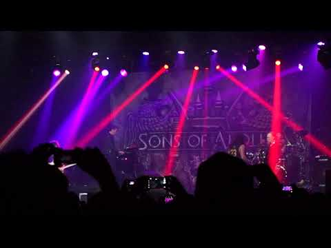 Sons of Apollo - Lines in the Sand (Live in São Paulo)