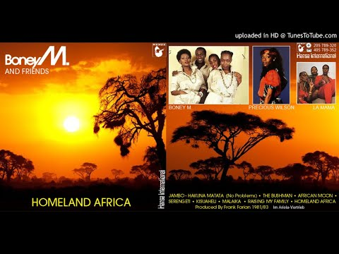 Boney M. And Friends: Homeland Africa [Compilation] (1983)