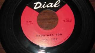 Download Knights of Soul - Joe Tex - Papa Was Too MP3 song and Music Video