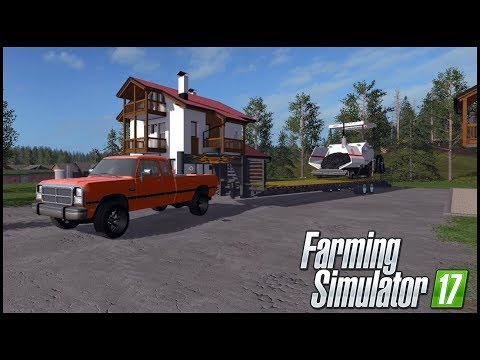Farming Simulator 17 - LAYING DOWN A PARKING LOT - EP 5
