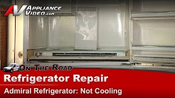 Admiral Refrigerator Repair - Not cooling - ATW19M6W