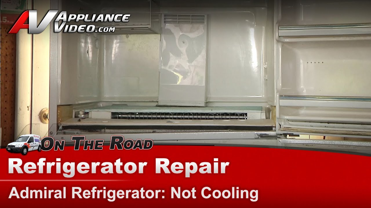 maxresdefault admiral refrigerator repair not cooling atw19m6w youtube Basic Electrical Wiring Diagrams at honlapkeszites.co