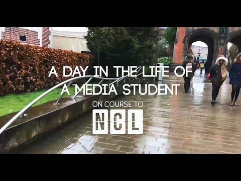 Day in the Life Of A Media Student - Newcastle University