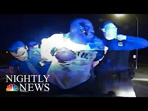 Dashcam Video: Michigan Police Stop Turns Violent | NBC Nightly News