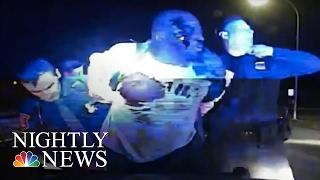 Dashcam Video: Michigan Police Stop Turns Violent   NBC Nightly News