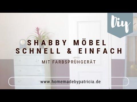 Diy Idee Shabby Chic Möbel Sprühen Gewinnspiel I Home Made By